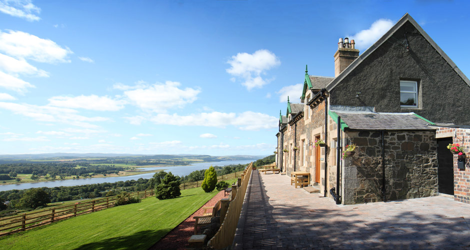 Gavinburn Cottages are a luxury getaway in Scotland.