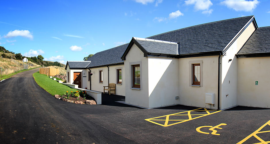 Easy Access - The new cottages are on the ground floor, making them very accessible for all the family.