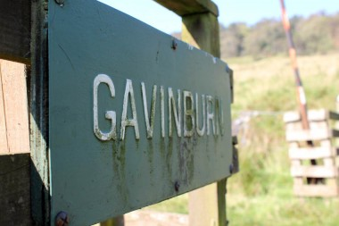 Old Gavinburn Sign