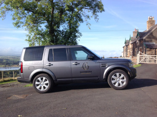 Land Rover Discovery supplied by Peter Vardy Ltd